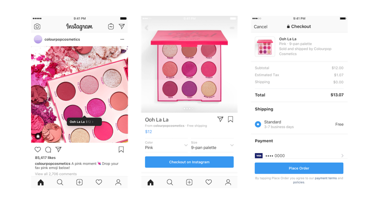 Instagram-Checkout-Feature